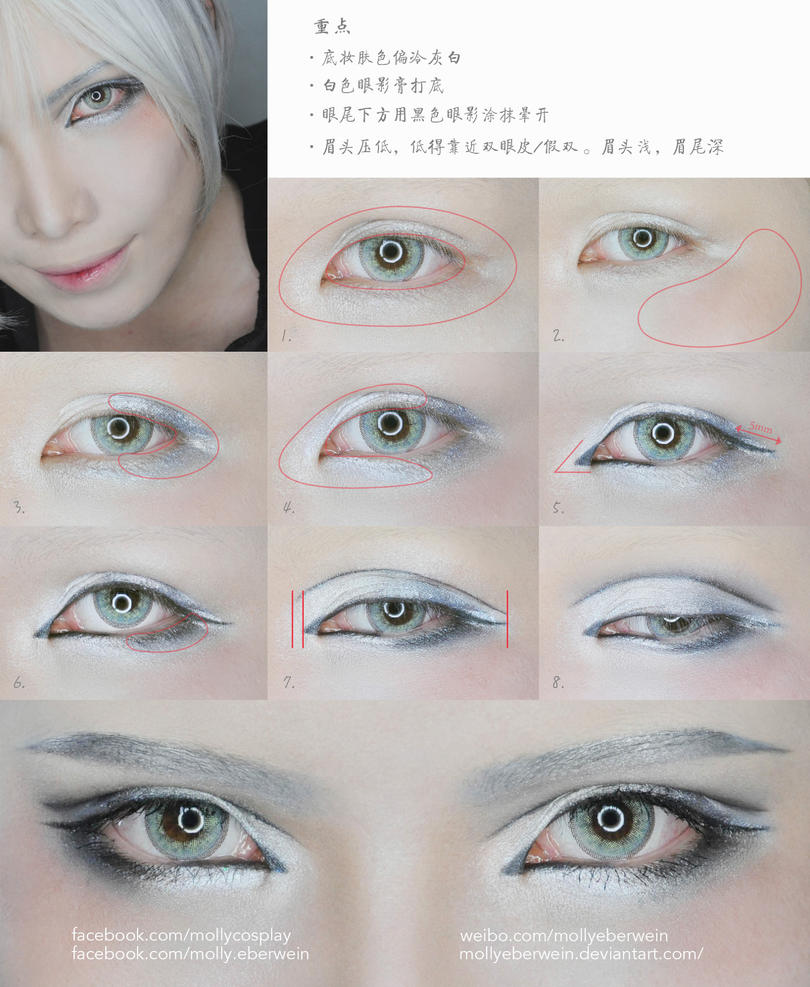 Cosplay eyes make up tutorial by mollyeberwein on deviantart cosplay eyes make up tutorial by mollyeberwein baditri Gallery