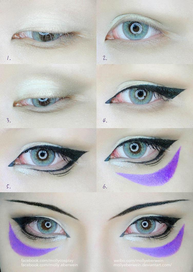One punch man onsoku no sonic eyes makeup tutorial by mollyeberwein baditri Gallery