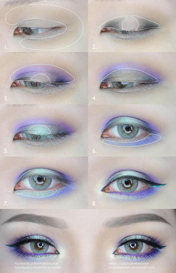 eye makeup blue green grey eyes | saubhaya makeup