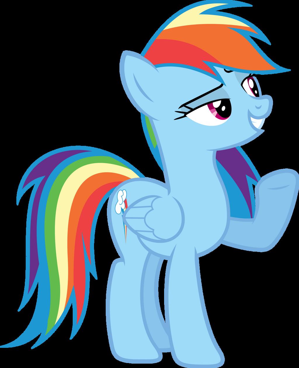MLP Vector - Rainbow Dash #5 by jhayarr23 on DeviantArt