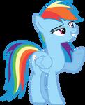 MLP Rainbow Dash Vector