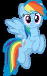 MLP Rainbow Dash Vector #5