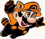 Halloween Raccoon Mario