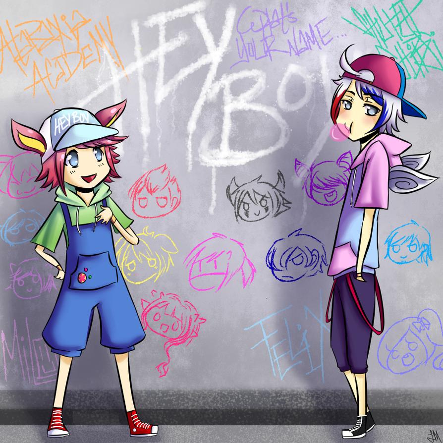 AA:: Hey Boy by ShutUpChibsi
