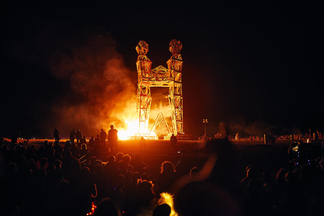 Burning of the Effigy by OfirAbe