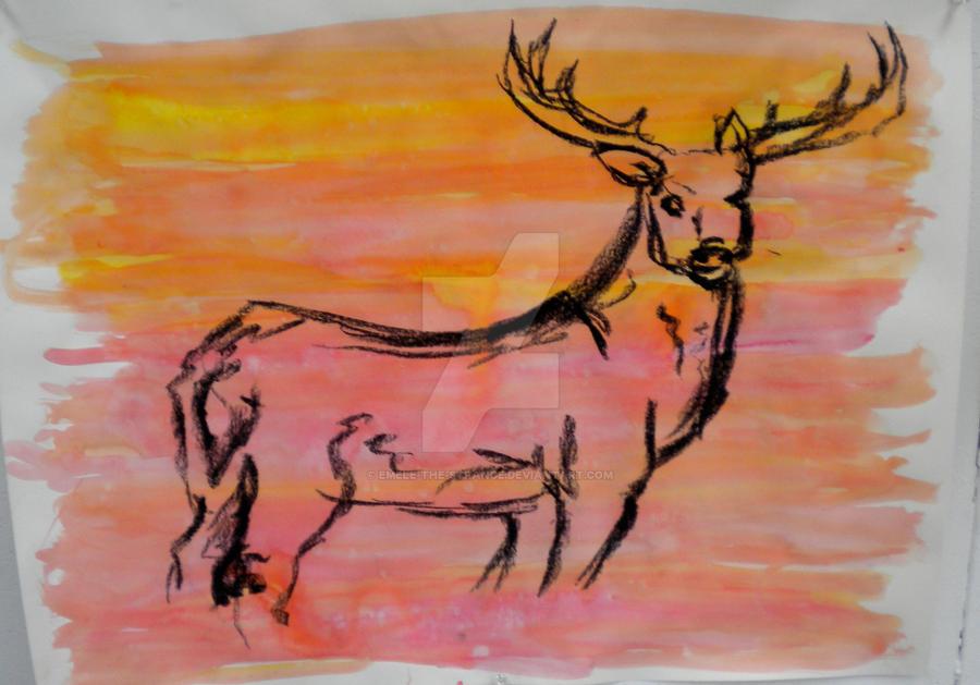 Deer Series 7 by emele-the-strange