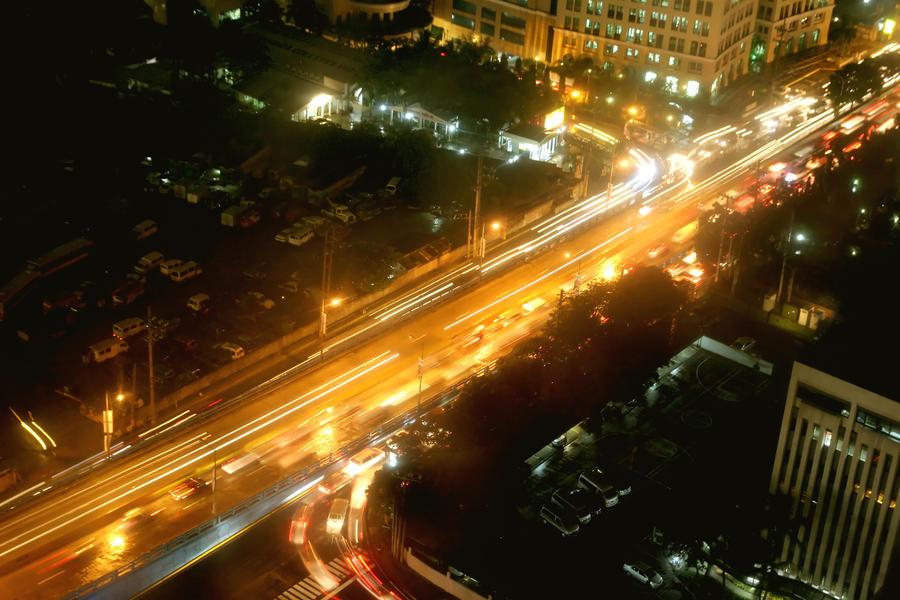 city street lights night - photo #17