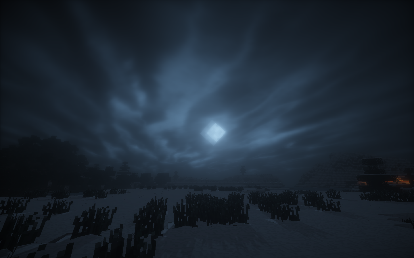 Must see Wallpaper Minecraft Night - mmmm_shaders_by_grace_k-d8kum1f  Pic_74784.png
