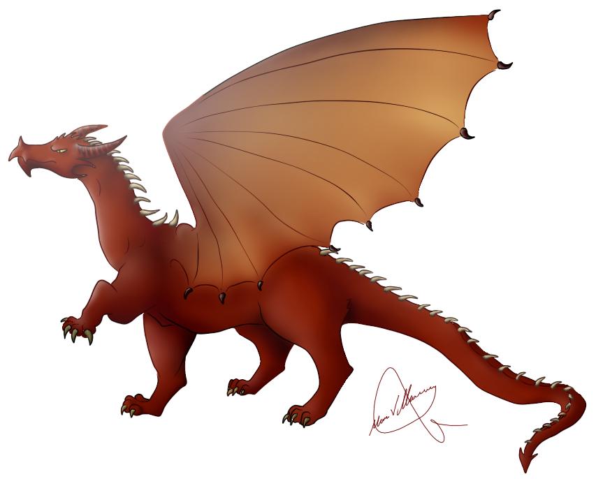 Ficha de Alduin (Ficha acabada) Red_dragon_by_gominola1607-d7n5qcm