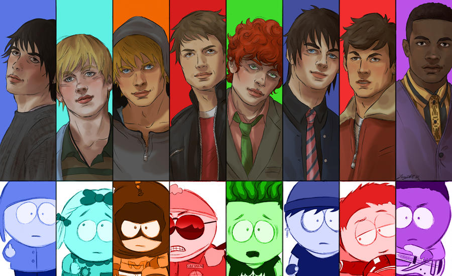 south park real
