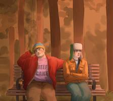 Cartman-Kyle by JeyDS