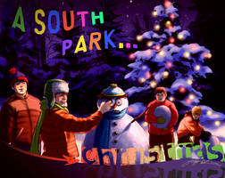 a south park christmas by JeyDS