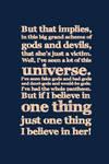 I Believe In Her.