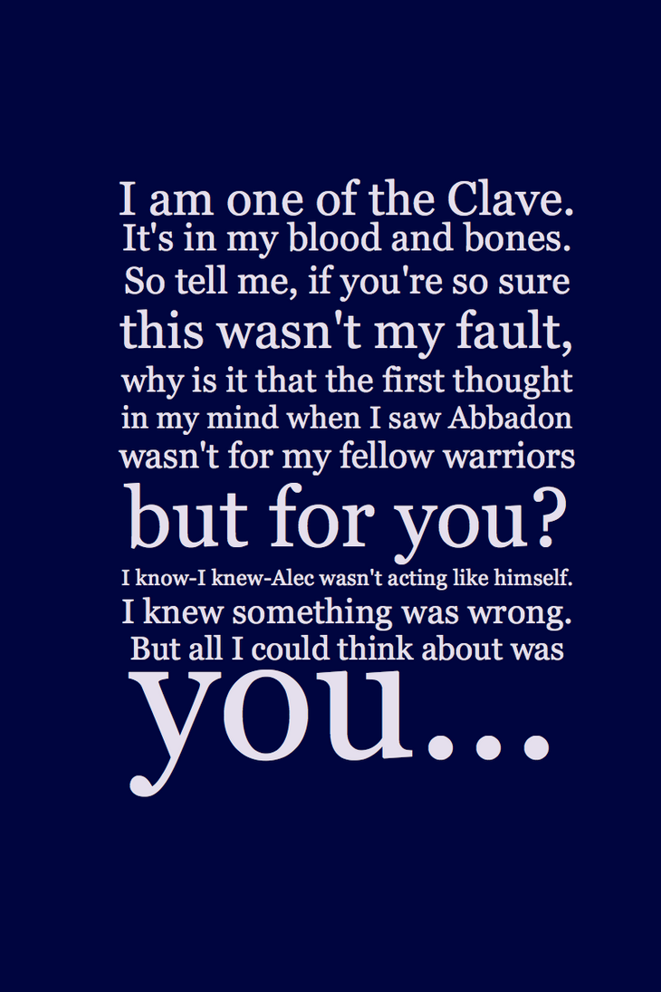 Clary And Jace Wayland Quotes. QuotesGram
