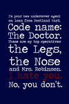 SPOILER - Code name.