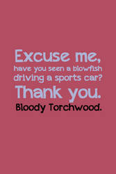 Bloody Torchwood