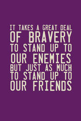 Bravery by inkandstardust