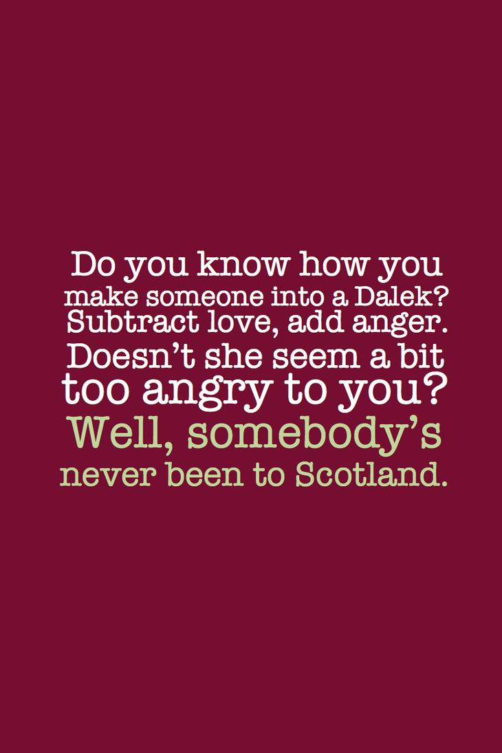 SPOILER - Scotland by inkandstardust