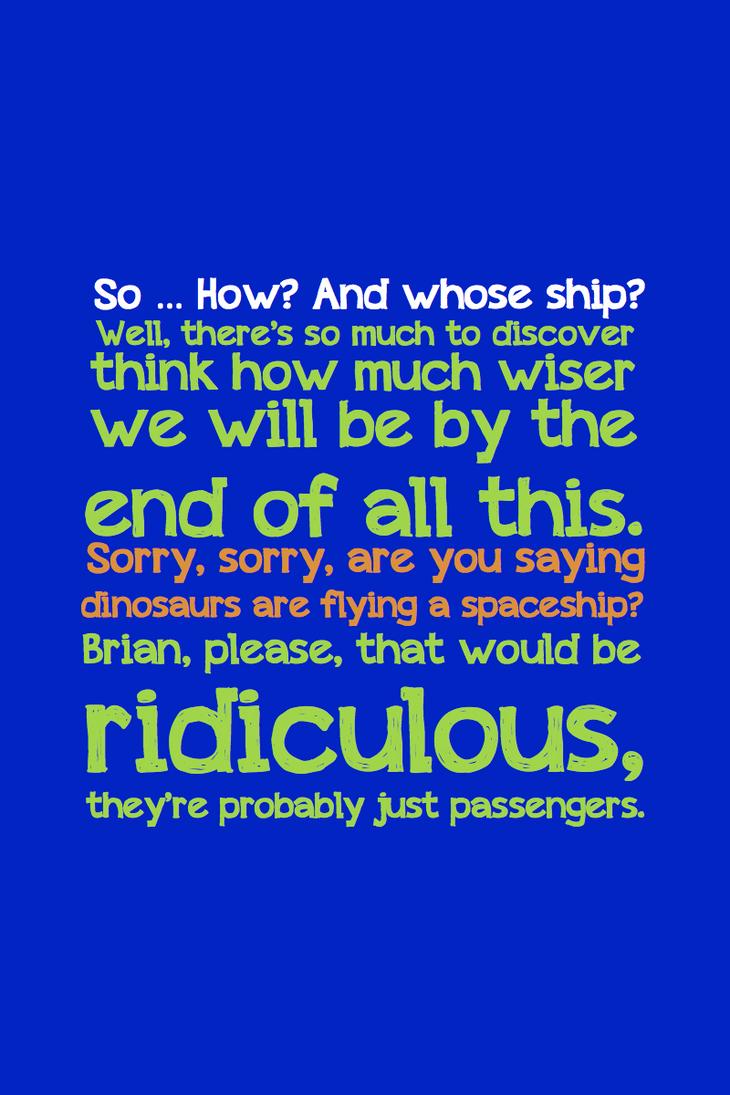 Spoiler - Passengers by inkandstardust