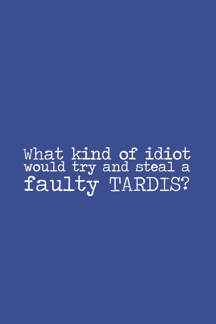 SPOILER - Faulty Tardis by inkandstardust