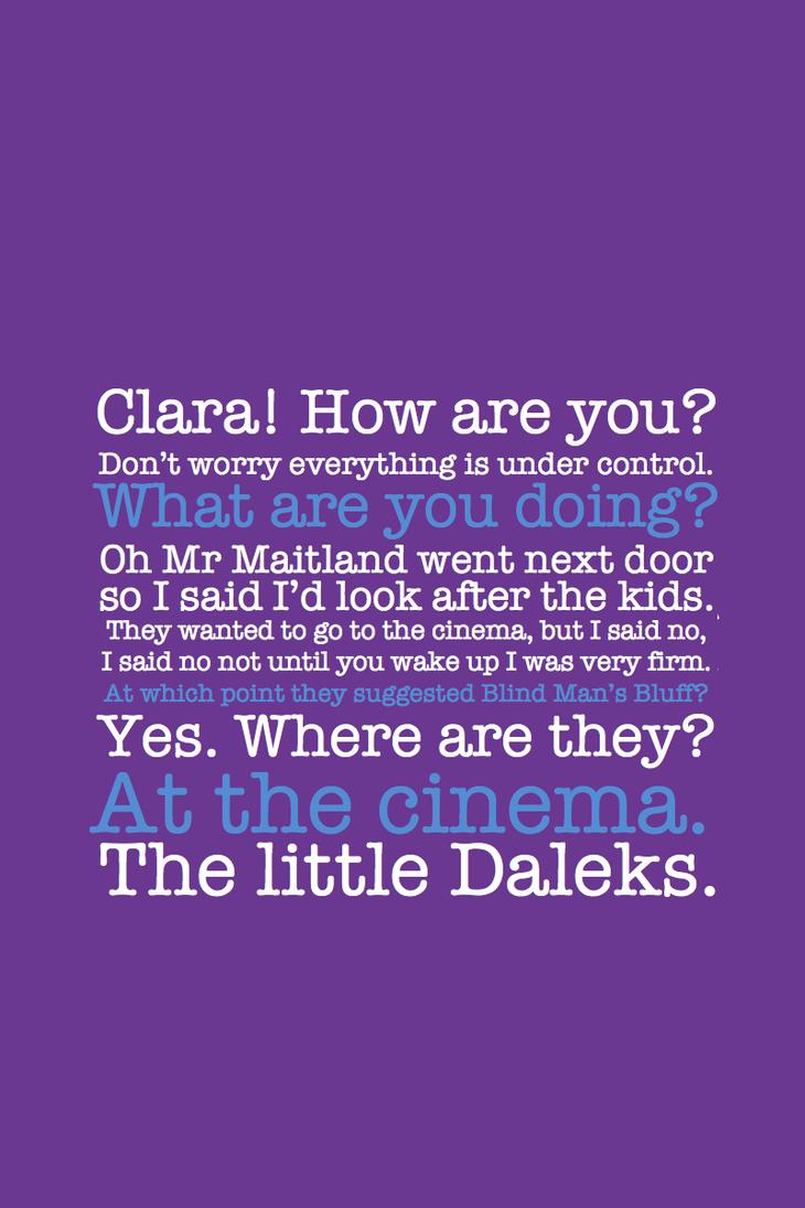 SPOILER - Little Daleks by inkandstardust