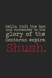 Shush by inkandstardust