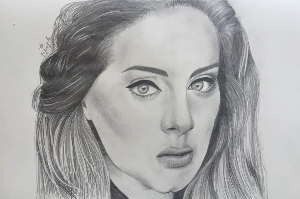 Adele by inkandstardust