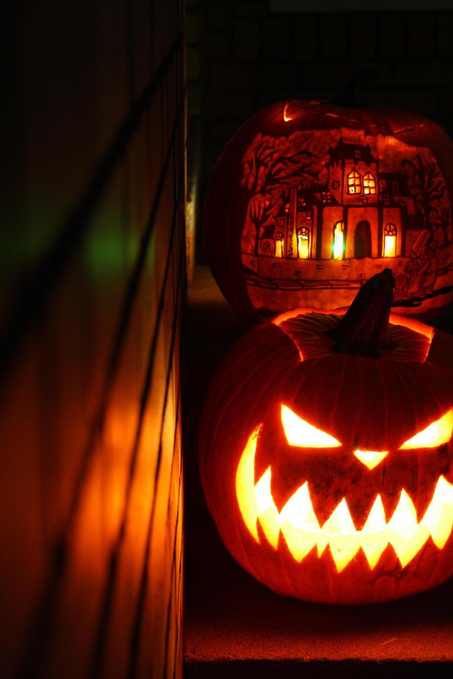 Jack-o-lanterns 2012 by firefly181