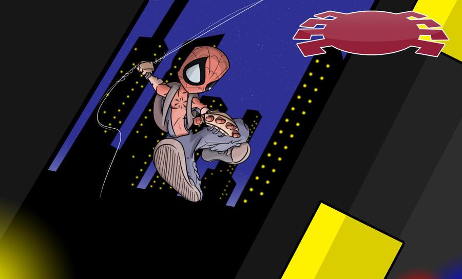 Spiderman by SkinnyKidDisease