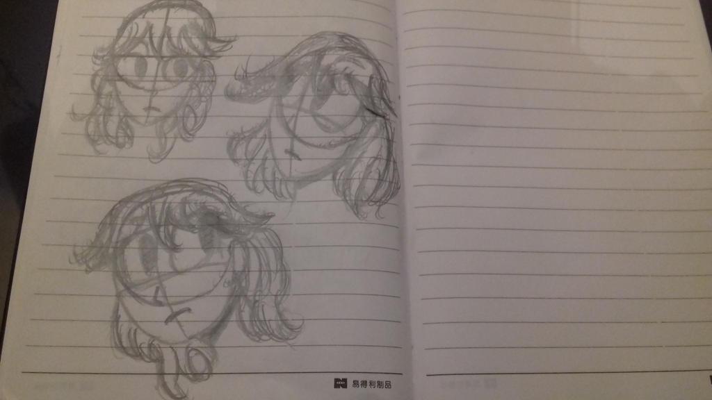 Ryuko Matoi doodles by Dndy2016