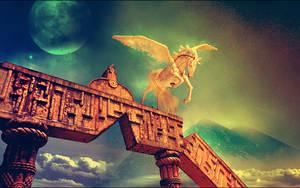 Pegasus Milestone by KlarthSan