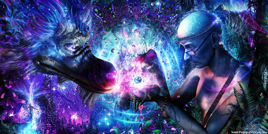 Visionary Art Cameron Gray by parablev