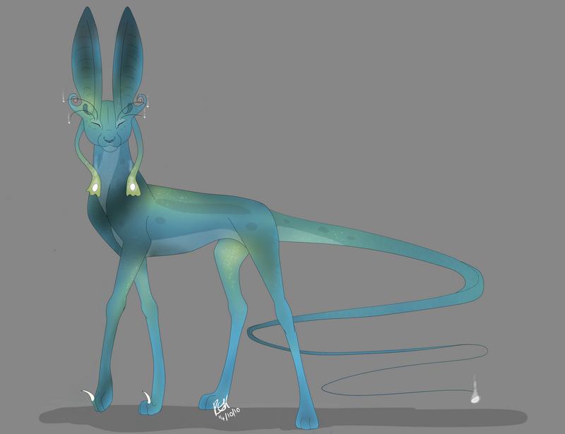 Alien Cat final by TickTockTheBoomBunny