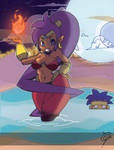 Shantae and the Not-So-Secret Springs