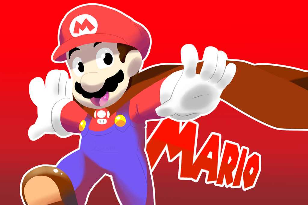 deviantart how to draw mario