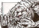 Star Wars: Rancor Sketchcard