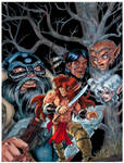 ElfSong Issue 2 Colored Cover