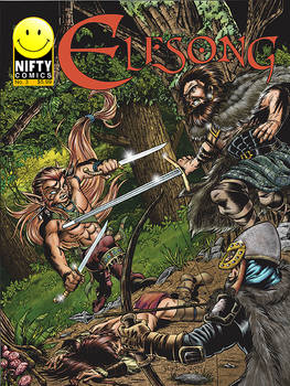 ElfSong Issue 3 Colored Cover