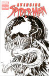 Avenging Spider-man ish 1 Sketch Cover - Venom