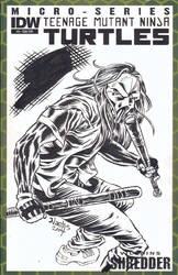 TMNT Sketchcover with Casey Jones