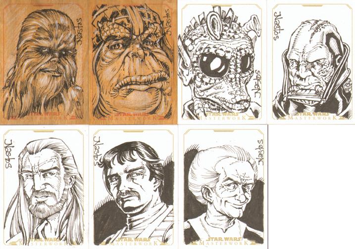 Star Wars Masterwork Sketchcards 4 by ElfSong-Mat