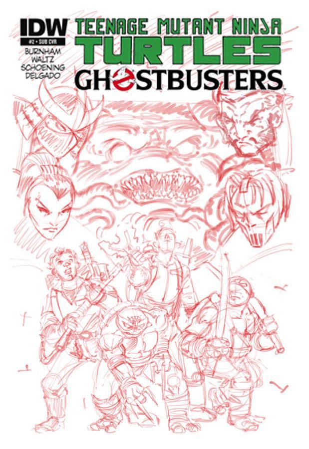 Teenage Mutant Ninja Turtles - Ghostbusters cover by ElfSong-Mat