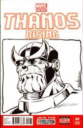 Thanos Sketchcover from Amazing Las Vegas Con 2015