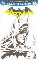 Batman Sketchcover Commission