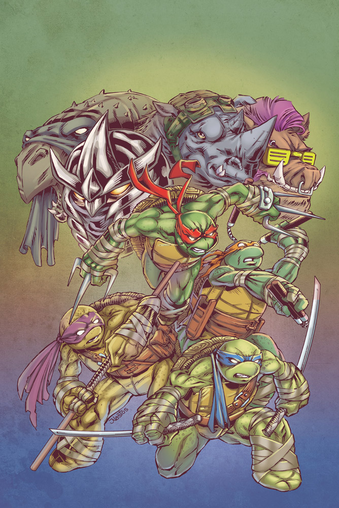 Teenage Mutant Ninja Turtles ish 67 cover by ElfSong-Mat