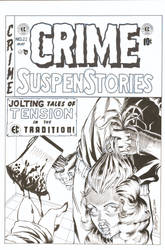 Crime Suspense Stories cover recreation
