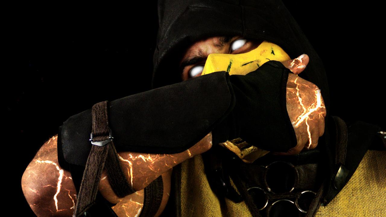mkx scorpion mask remove by razielalucard on deviantart
