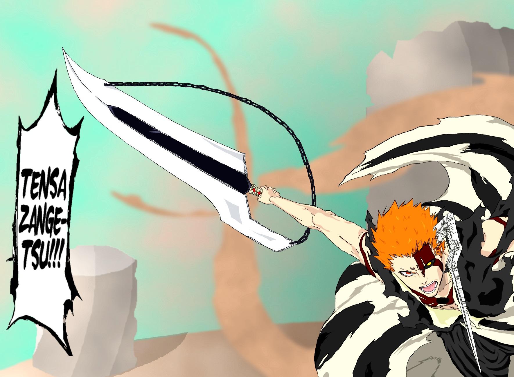 Ch 678 Ichigo's New Bankai by MasterQwertster on DeviantArt