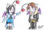 Squall and Rinoa - Moogle Poke