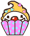 Clowny Cupcake by buggy0004
